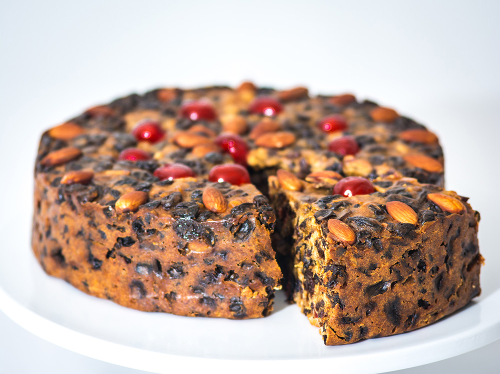Handmade-Christmas-Cake