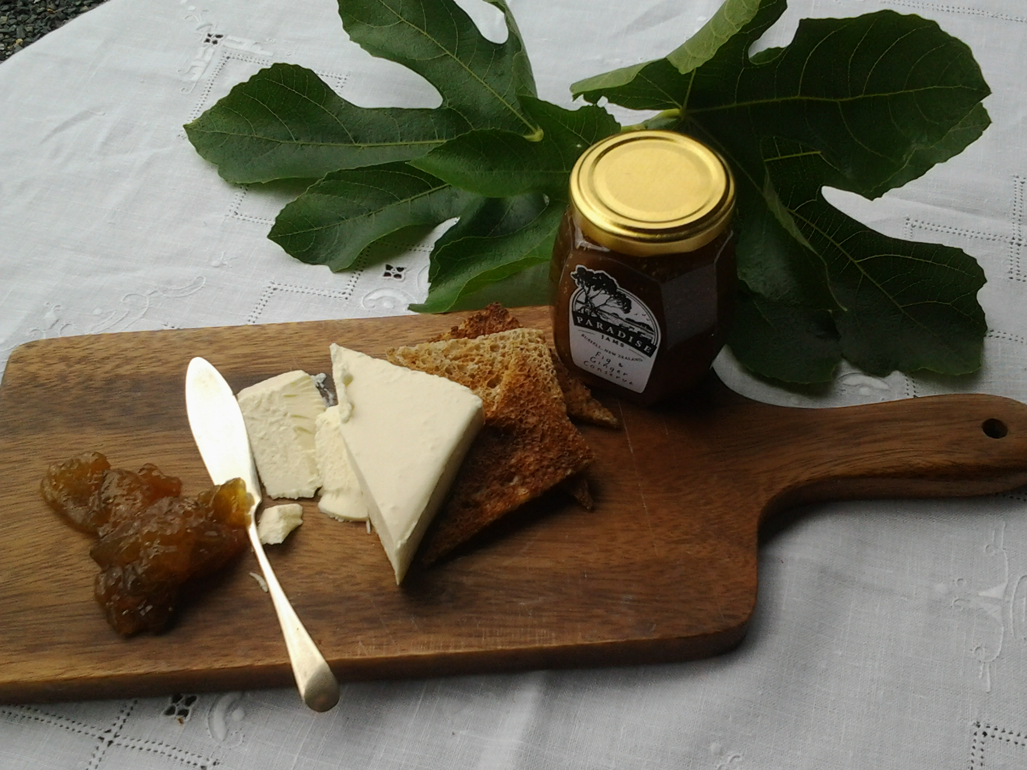Fig & ginger conserve