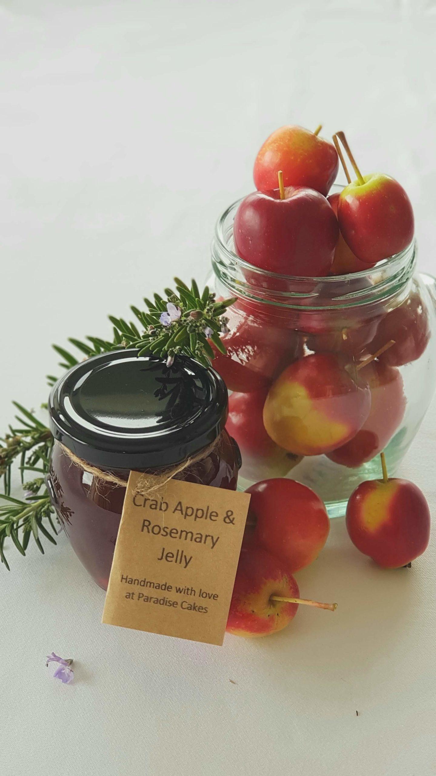 1. Crabapple & rosemary jelly