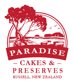 Paradise Christmas Cakes Logo